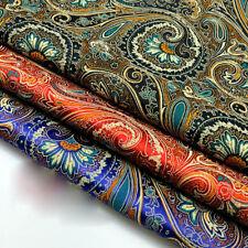 1 Meter Floral Damask Jacquard Brocade Fabric DIY Material Cloth Sewing Crafts