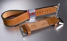 Eulux * Smart Wear Double * Uhrenarmband * Lederband für Uhren * Handmade 22 mm
