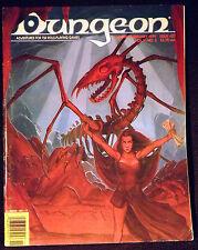 DUNGEON MAGAZINE ISSUE 27 Fine+/VF! Jan/Feb 1991 Dungeons & Dragons Mag ad&d d&d