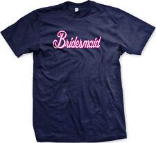 Bridesmaid Script White Bachelorette Party Wedding Married Friend Men's T-Shirt