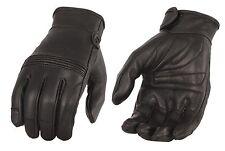 Women's Premium Leather Riding Glove w/ Flex Knuckles & Gel Palm - MG7735