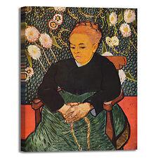 Van Gogh la berceuse design quadro stampa tela dipinto telaio arredo casa
