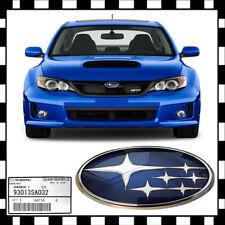 OEM Front & Rear Subaru Subie AWD Badge Emblem 2008 - 2018 WRX STI Carbon fiber