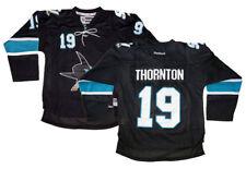 Joe Thornton #19 San Jose Sharks Reebok NHL Youth Black Premier Jersey $100