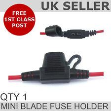 Waterproof Heavy Duty Mini Blade Fuse Holder (inline)