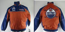Edmonton Oilers NHL Men's 5 Time Stanley Cup Champions Full Zip Winter Jacket