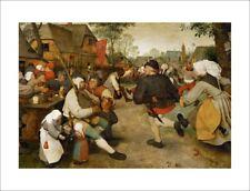 Brueghel - The Wedding Dance - fine art giclee print poster various sizes