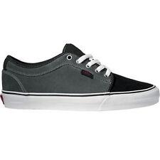 Vans CHUKKA LOW GILBERT CROCKET Black Charcoal Gray Discounted (261) Men's Shoes