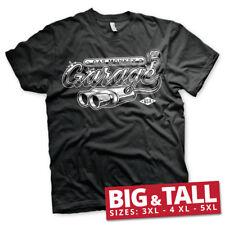 Officially Licensed Gas Monkey Garage Exhaust 3XL, 4XL, 5XL Men's T-Shirt
