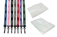 Il personale laccetto da collo cordino (clip in plastica) & ID Card Holder per il tuo ID Card