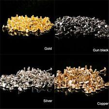 Double Cap Rivets 10x8 10x10mm 12x10mm 12x12mm Studs Leather Craft Rapid Repair