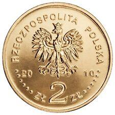POLOGNE : pièces commémoratives de 2 ZLOTE - neuves UNC - Or Nordique