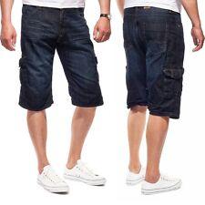 JACKS Herren Jeans Cargo Shorts 50180 Ballad Blue