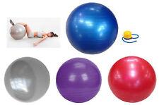 Balle de Gymnastique Ballon-Siège Fitness Couleur Tailles au Choix en Caoutchouc