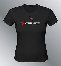 Tee shirt personnalise FZ07 S M L XL femme moto FZ-07