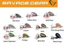 Savage Gear Rotex Spinner, Kunstköder für Raubfische, Hechtköder