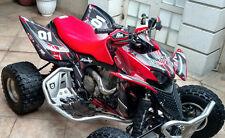 TRX 700XX TRX 700 XX graphics custom sticker kit for Honda #3333 Red