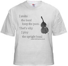 Bluegrass T Shirt - Upright Bass  -  NEW