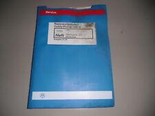 Workshop Manual VW CADDY PICKUP 1AV Fuel Injector Ignition AEE 07/1996