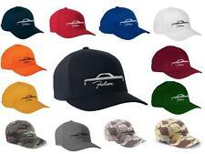 1964 1965 Ford Falcon Coupe Classic Color Outline Design Hat Cap