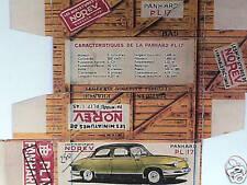 REFABRICATION BOITE PANHARD PL17 1959/1963  NOREV