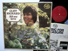 CLIFF RICHARD All my Love LP England Press MFP