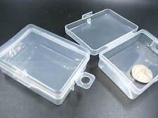 craft Storage case Jewelry Beads Organizer box plastic packing box with hanger