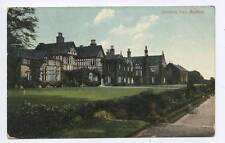 (w15i90-354) Smithhills Hall, BOLTON 1909 Used G-VG