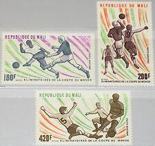 MALI 1977 604-06 C311-13 World Soccer Cup Elemination Games Fußball Football MNH
