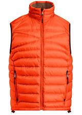 Ralph Lauren Purple Label Herren Rlx Orange Gesteppt Down Verpackbar Bomber Top