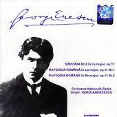 George Enescu Simfonia La major, Rapsodia Romana La & Re major (DDD Romani 1998)