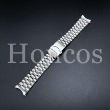 20 - 22 MM Steel Jubilee Watch Band Bracelet Fits For Seiko SKX009 Presidential