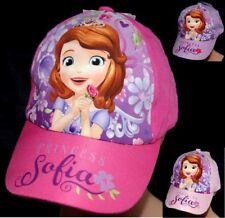 CASQUETTE ROSE VIOLET enfant 52 OU 54 cm PRINCESSES DISNEY princess SOFIA FILLE