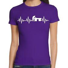 Herzschlag Billard Damen T-Shirt | Billiards | Poolbillard | Snooker | Queue