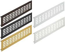 Air Vent Aluminum Web Plate Louvre Vent Heizungsgitter Diverse Lengths