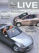 Nissan Life 2/06 DCAS 350 Z Micra C+C Dunlop Drivers Auto Pkw Asien Japan 2006