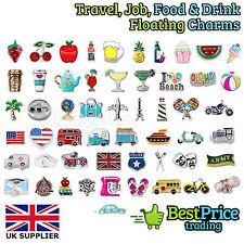 Mejor Calidad Amuleto Flotante Para Memoria Viva Guardapelo * comida y bebidas de viajes de trabajo