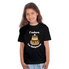 T-shirt ENFANT J'ADORE LES RELIGIEUSES