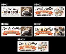 Coffee Shop in pvc stampato banner Outdoor/Indoor segno RISTORAZIONE Café Occhielli