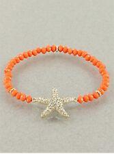 Crystal Starfish Stretch Bracelet