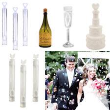 Wedding Bubbles Favours Blow Wand Tube Bottle Table Decorations Party Bag Filler