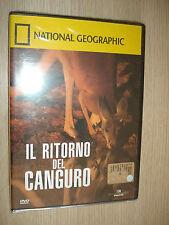 DVD N° 6 NATIONAL GEOGRAPHIC IL RITORNO DEL CANGURO MARSUPIALI AUSTRALIA