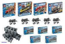 LEGO Eisenbahn Set Scelta /Fermata di tampone/Binari/Weiche7937/
