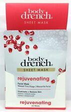 Body Drench Sheet Mask - Rejuvenating - Set/Lot of 4,8,12,24 Pack - Choose Any