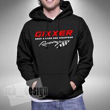 GIXXER Drop A Gear Adult Hoodie Superbike Motorbike Bikes Road Bike Biker