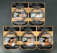 Spro TM Trout Master Mono Ultra High Performance Schnur 200m 0,16mm - 0,25mm NEW