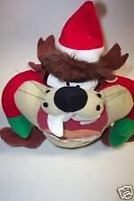 """Plush Looney Tunes Taz in Elf Costume 9"""""""