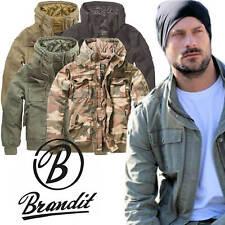 BRANDIT BRONX JACKET S-XXL Kapuze Jacke Bomberjacke Blouson Army Winterjacke 310