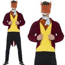 Adult Mens Roald Dahl Fantastic Mr Fox Fancy Dress Costume by Smiffys