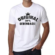 Original Gebenbach Tshirt, Homme Tshirt Blanc, Cadeau Tshirt, Geschenk